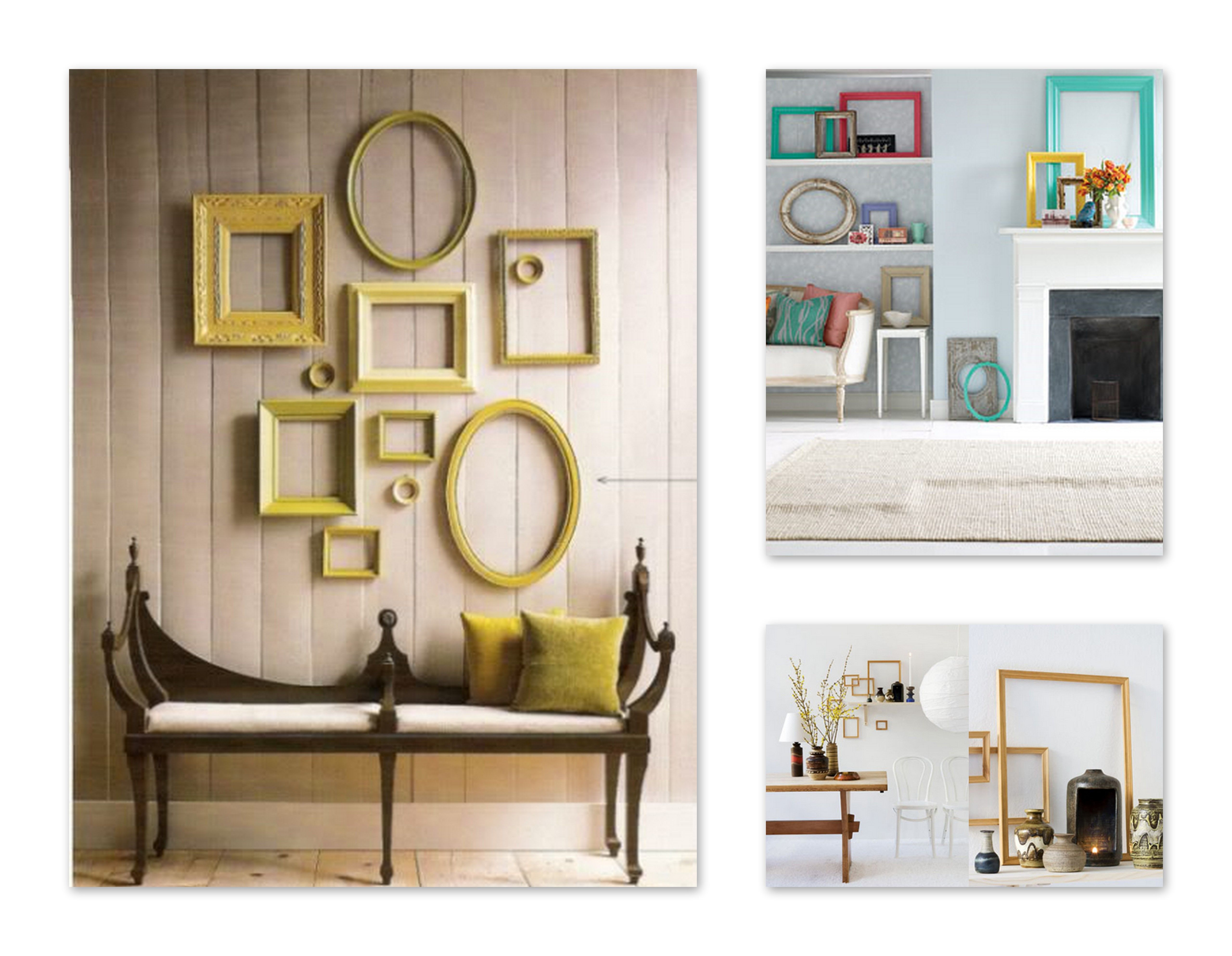 Home Decor Picture Frames | Here are some empty vintage picture ...