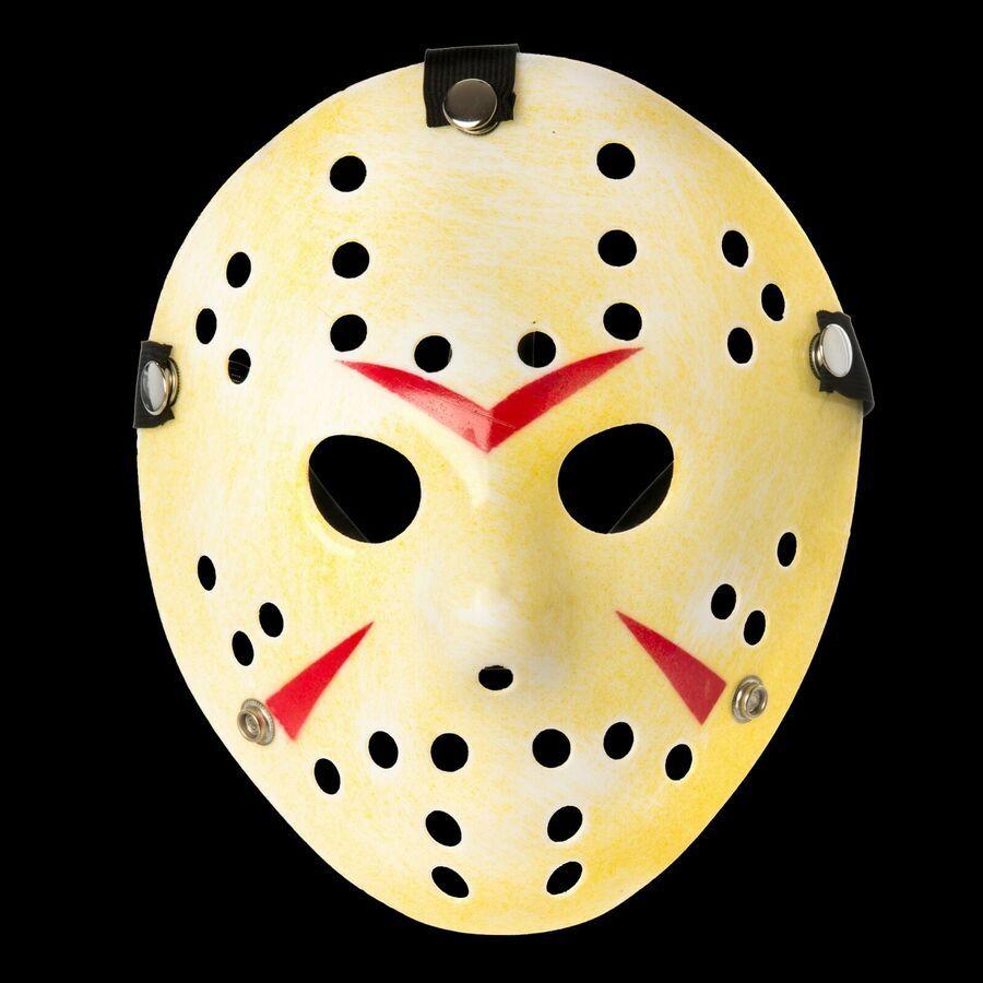 Jason Head Scary Face Masks Fancy Costume Dress Cosplay Hockey Party Halloween