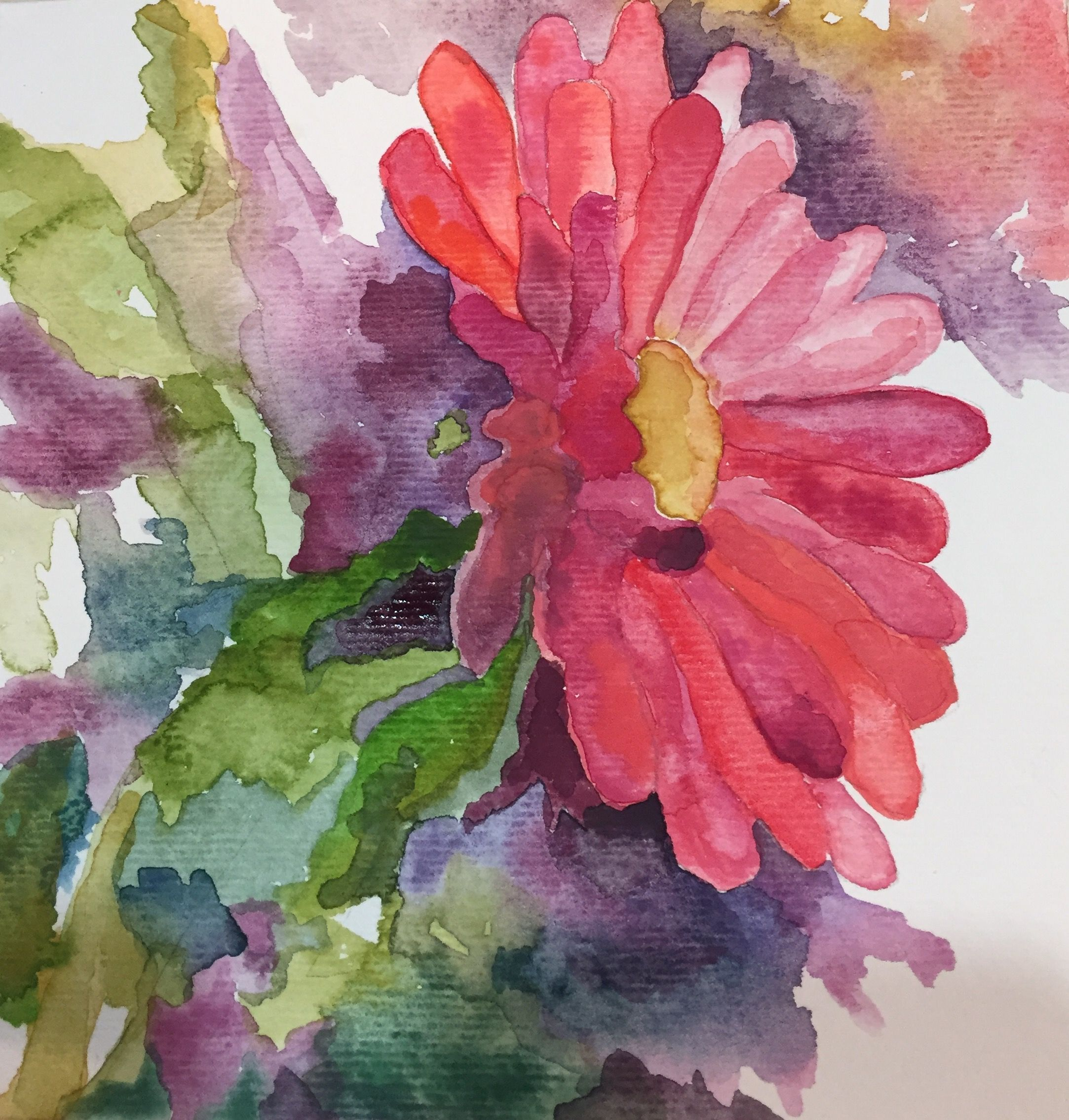 Pretty Flower Flower Beauties Pinterest Watercolor