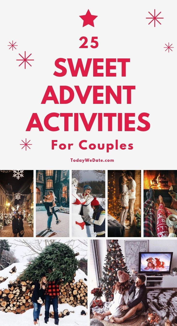 25 Very Merry Christmas Advent Activities For Couples Todaywedate Com Christmas Gifts For Couples Advent Activities Creative Christmas Gifts