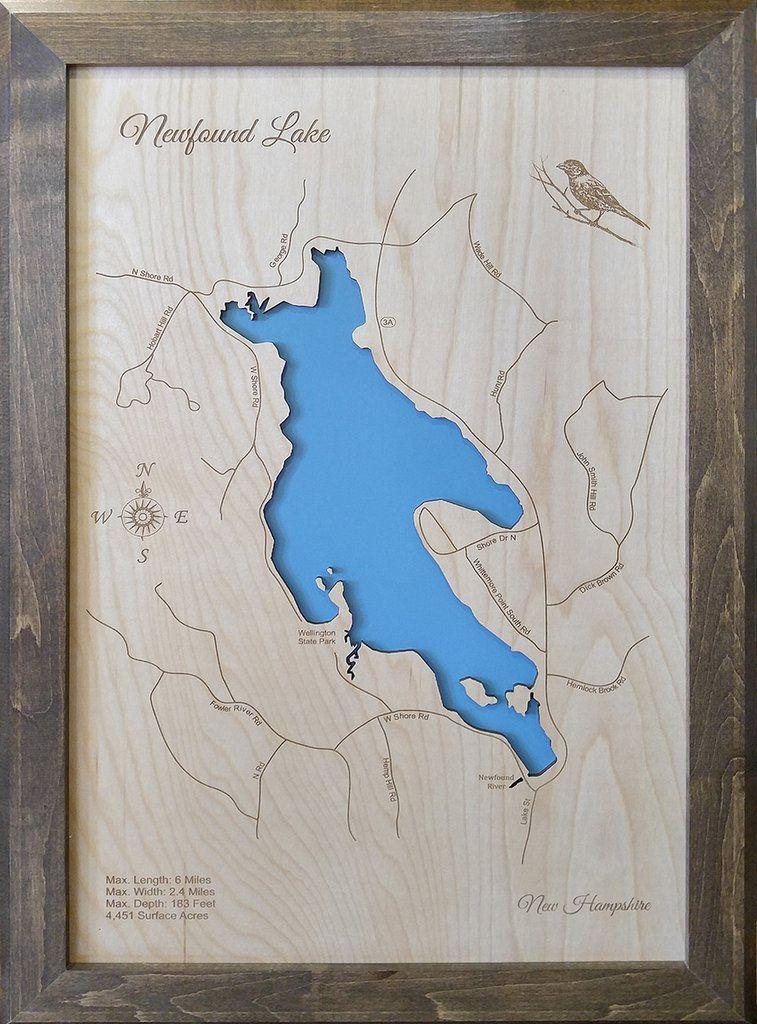 Newfound Lake New Hampshire Wood