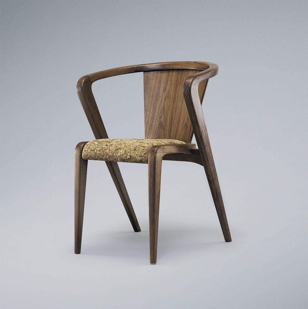 Wooden chairs with armrest - Contemporary Chair With Armrests In Wood Standard Base Portuguese Roots Aroundthetree