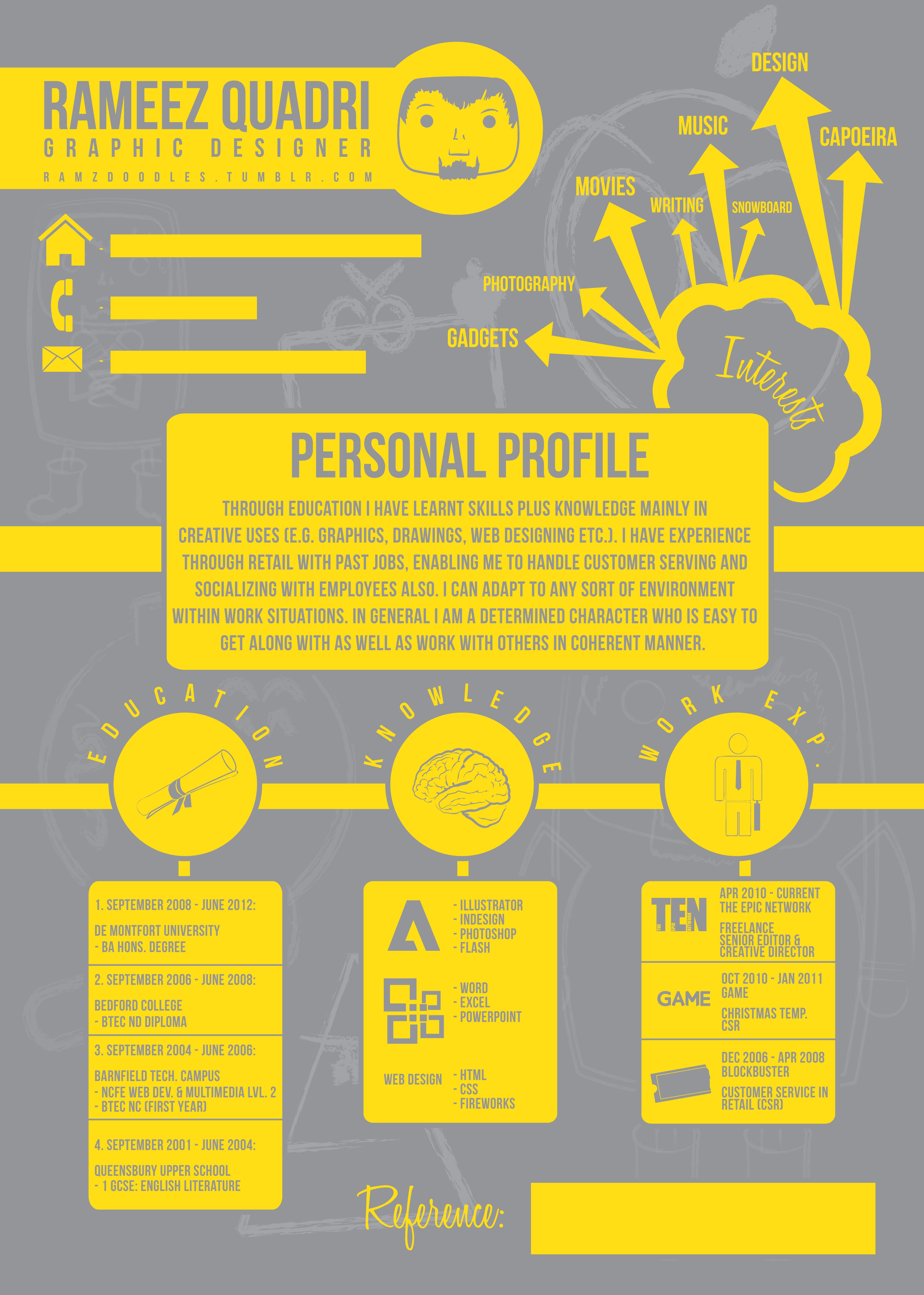 Design Resume | Design | Pinterest | El viento, Aplicación y Color