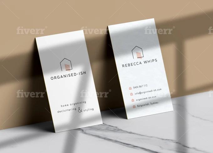 Architect G I Will Design Minimal And Elegant Business Cards For 75 On Fiverr Com Elegant Business Cards Design Minimal Printing Business Cards