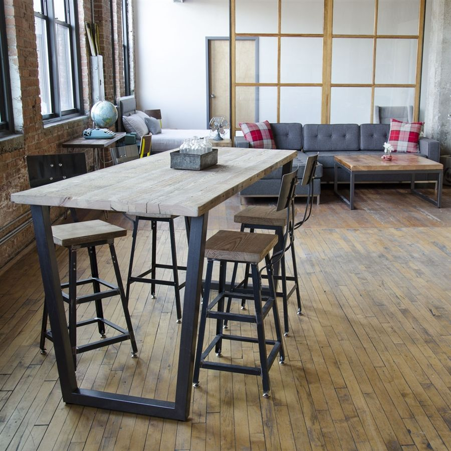 Find This Pin And More On Nomy Table By Smcllns. Counter Height Table  Bistro Table Farmhouse By UrbanWoodGoods. Brooklyn Reclaimed Wood ...