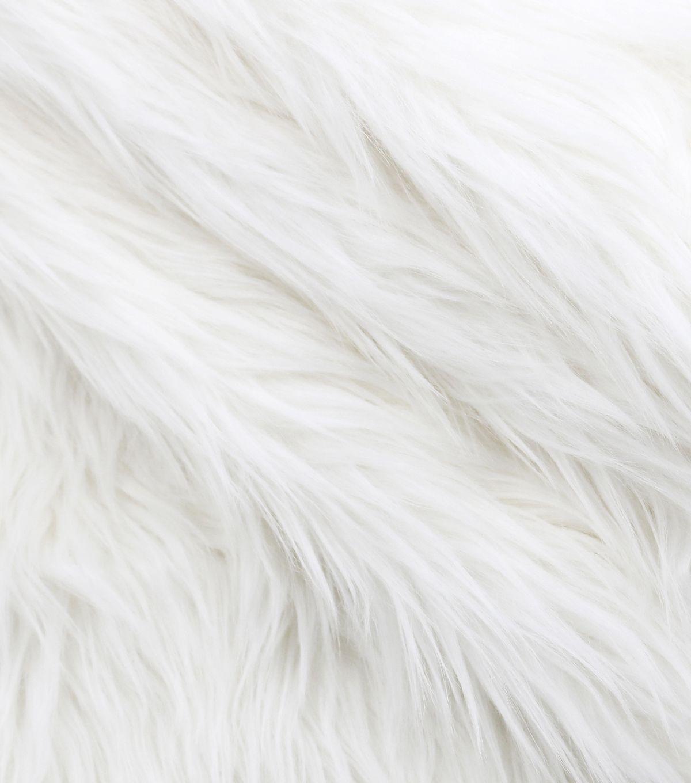 Luxury Faux Husky Fur Fabric White Joann White Aesthetic Black And White Aesthetic White Wallpaper