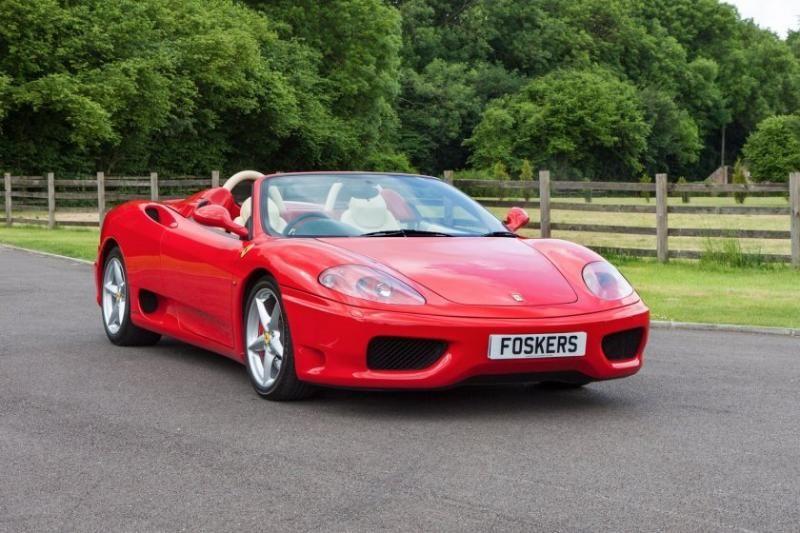 2004 Ferrari 360 Spider Classic Cars Classic Motors Ferrari