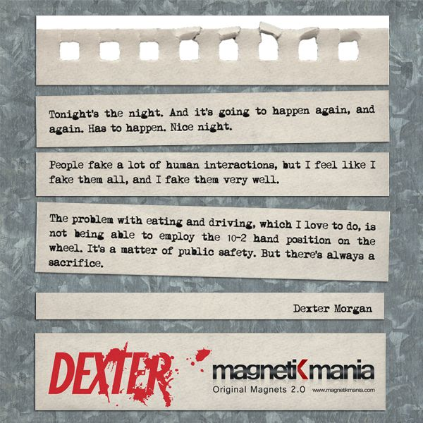 Pin On Dexter Quotes