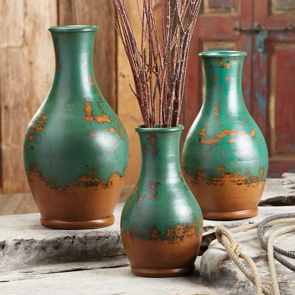 Pin by lisa schulz on art for desert homes pinterest pottery buy your rustic vases and pottery sets at black forest decor your source for kitchen accessories reviewsmspy