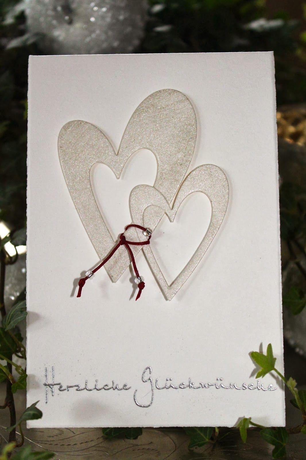 Pa Pier Werk Hochzeitskarte Karte Hochzeit