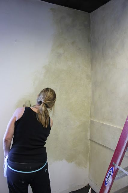 Ragging The Walls And More Cobblestones Wall Painting Techniques