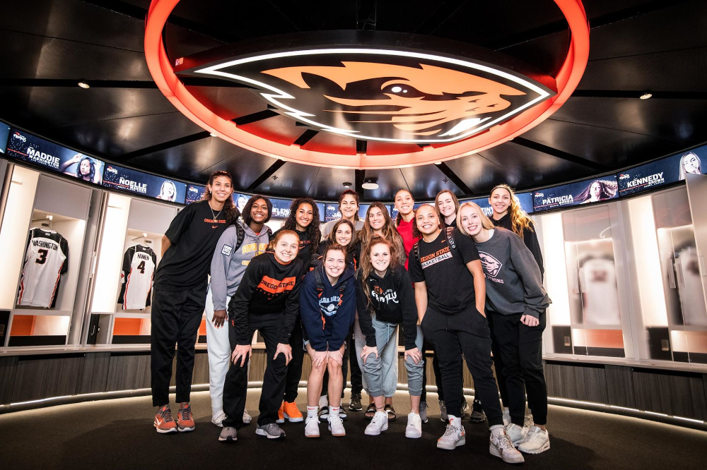 Beavers Unveil State Of The Art Locker Room Remodel In 2020