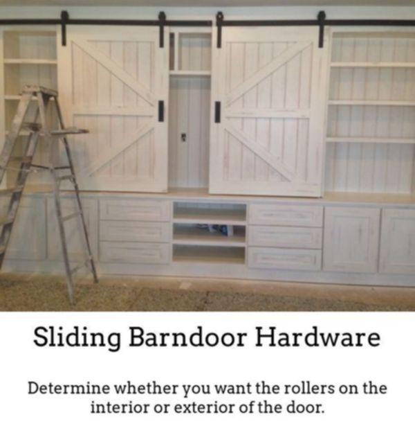 Custom Interior Barn Doors Sliding Barn Door Mechanism Bedroom