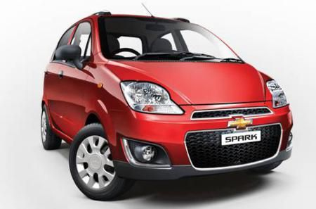 All New Chevrolet Spark From General Motors India Is Unleashed