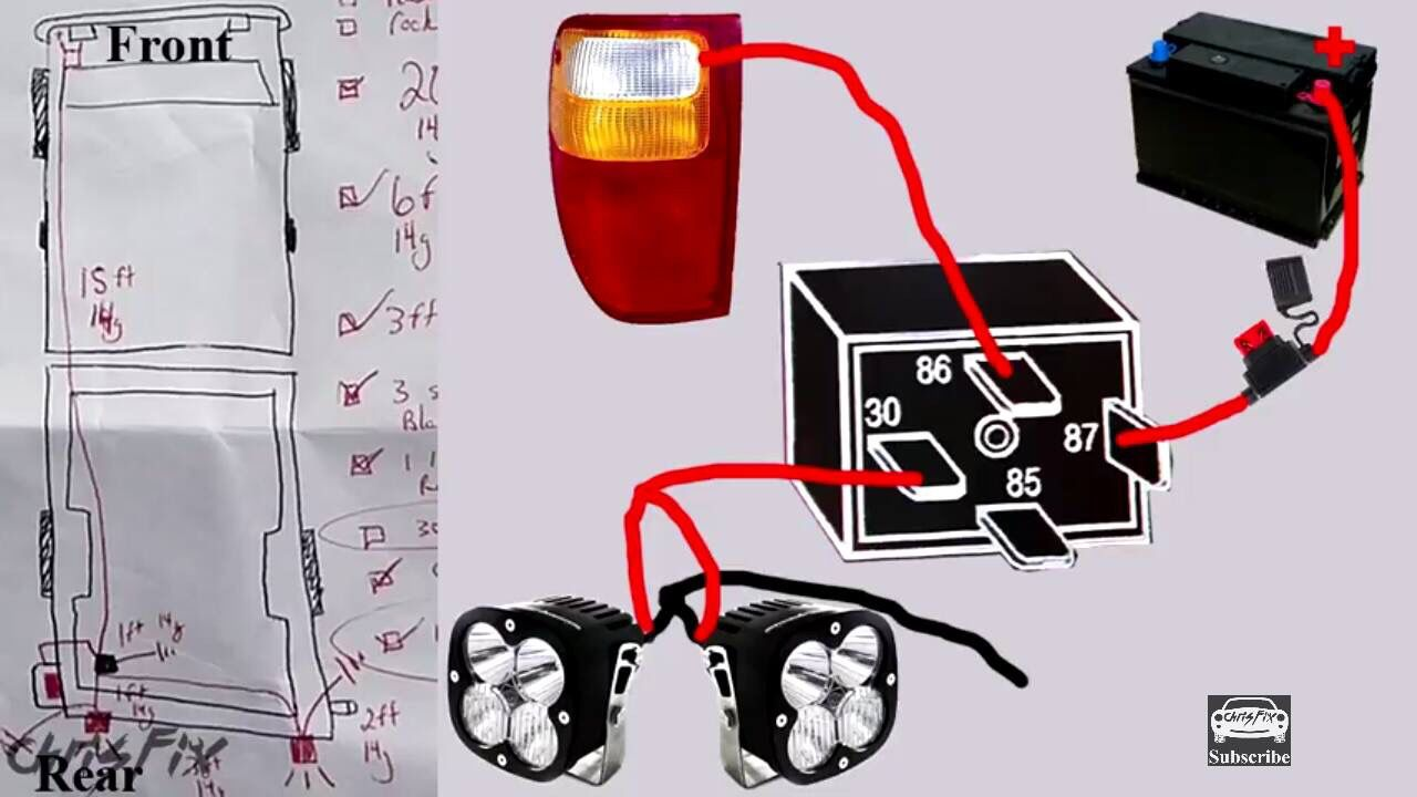 Reverse Lights Wiring With Led Trucks Repair Truck Accessories
