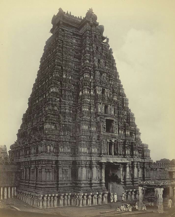 Srirangam Temple, Thiruchirapalli, Tamilnadu, India.