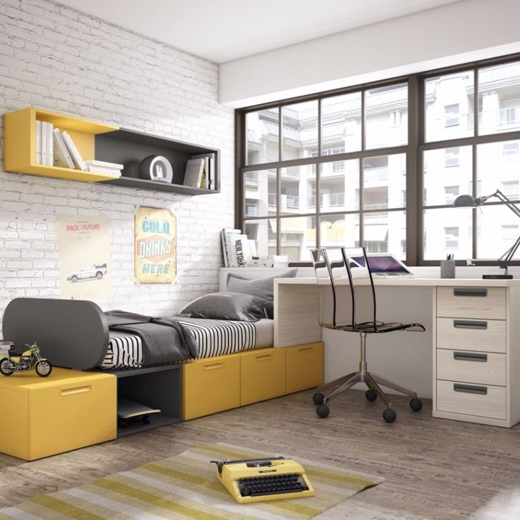 Dormitorio cat logo up16 junior room for Catalogos de muebles juveniles con precio