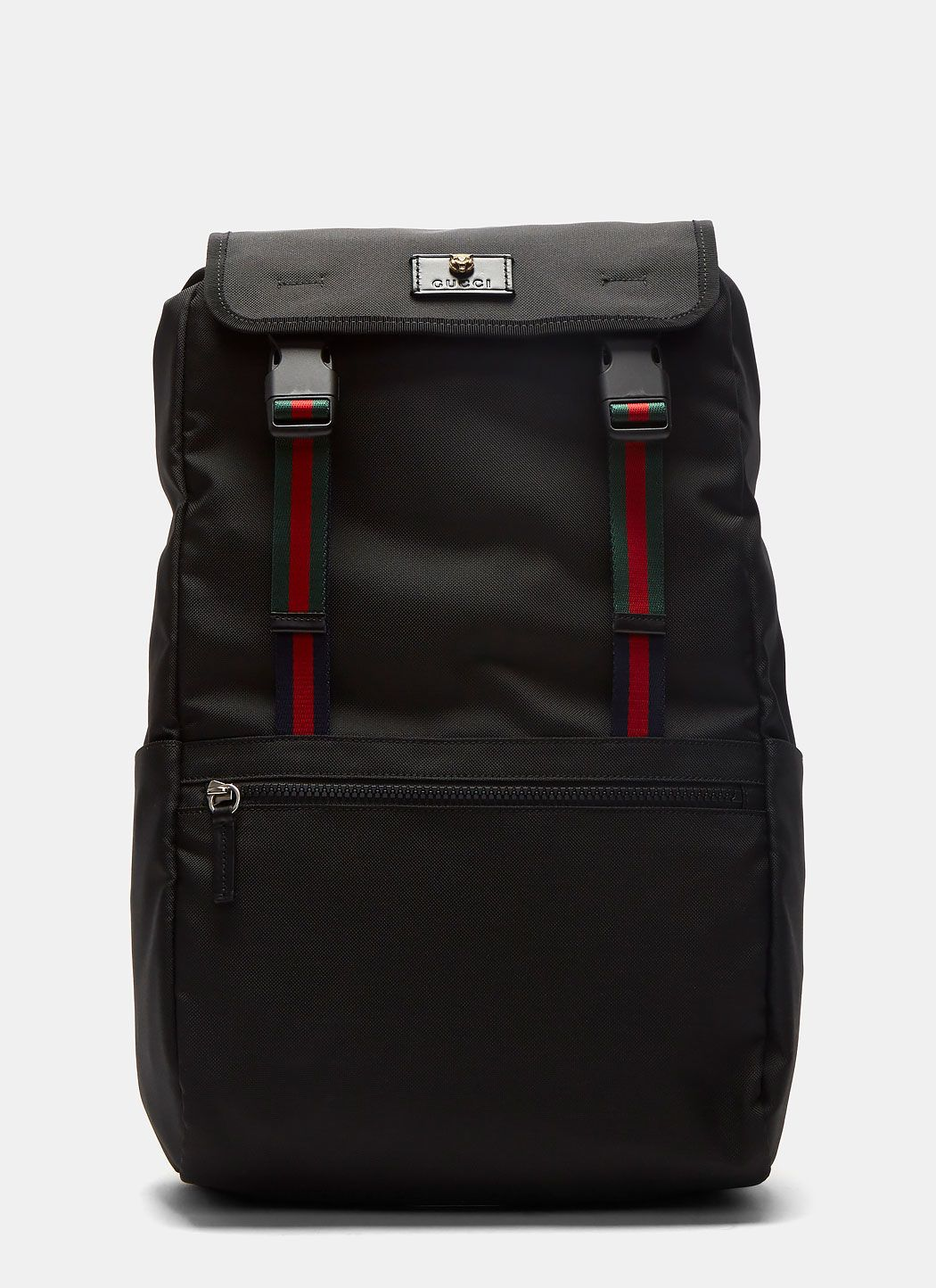 ea91bad67339 GUCCI Men S Zaino Technical Canvas Backpack.  gucci  bags  canvas  lining   polyester  nylon  backpacks  cotton