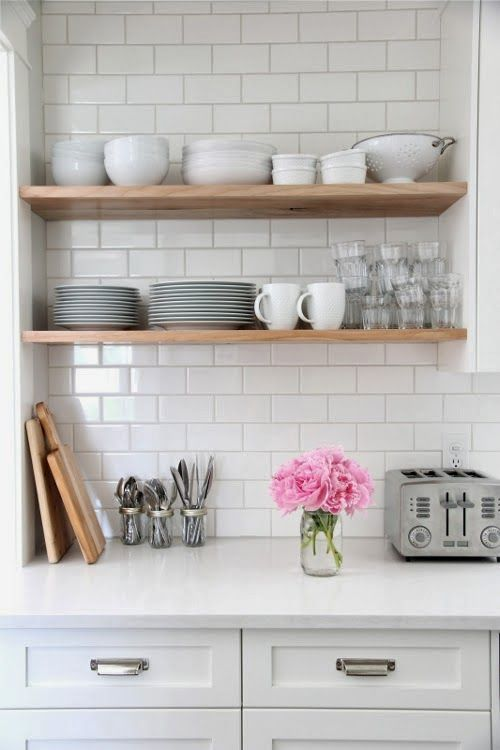Tips For Doing A White Kitchen Cuisines De Reve Etagere Cuisine