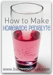 Homemade pedialte -soooo much better than the junk at the store!
