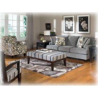 Ashley Furniture Yvette Steel Living Room Group At Big Sandy Superstore