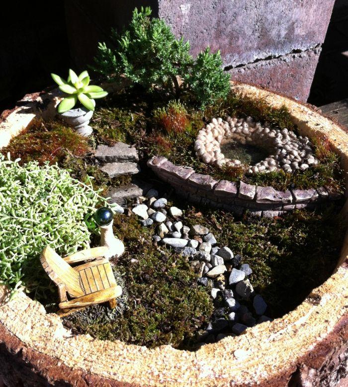 Deko Bastelideen - Reizvollen Mini Garten kreieren | minigärten ...