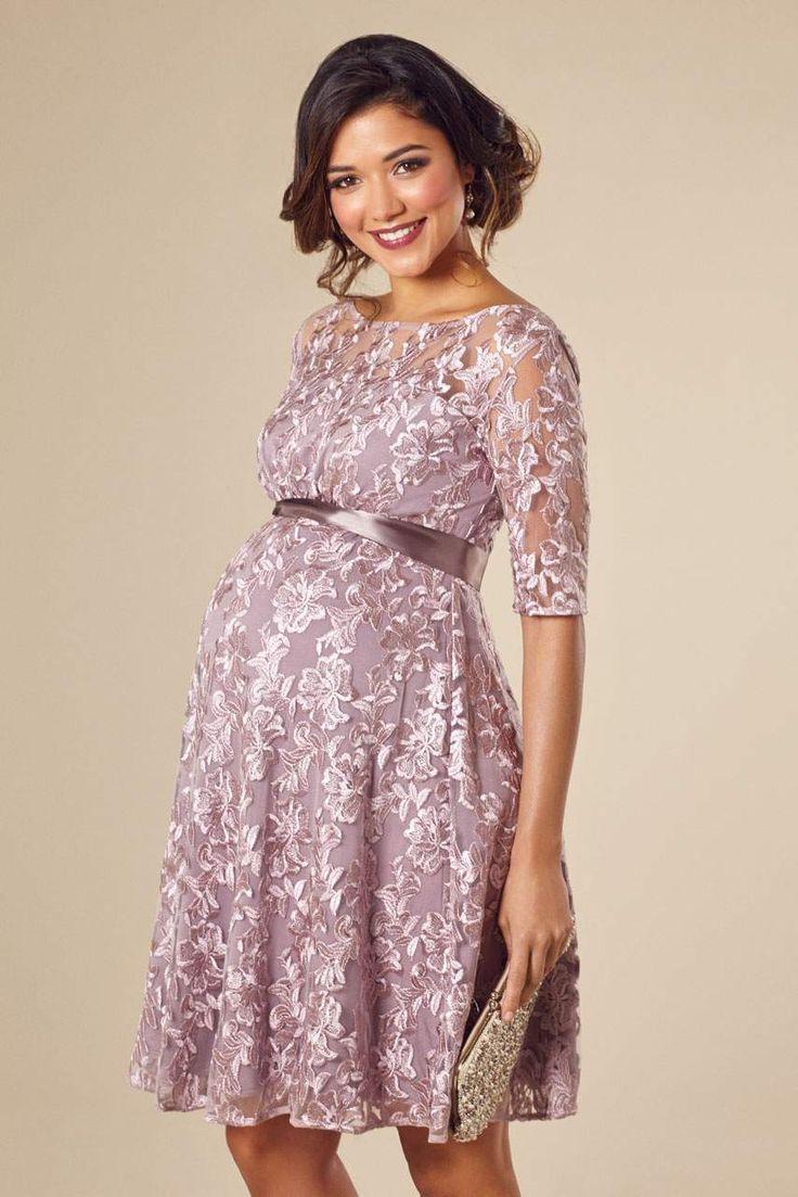a-line umstandskleid aus spitze   kleider für schwangere
