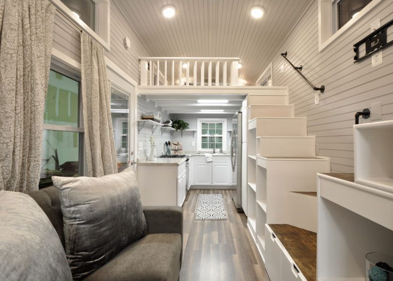 this is the gorgeous kate by tiny house building company thats for sale the inside - Tiny House Inside