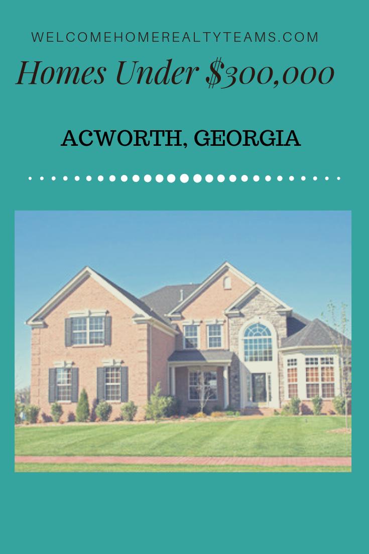 These Acworth Georgia Real Estate Listings Are All Acworth Georgia Homes For Sale Under 300 000 Sort By Property Search Georgia Homes For Sale Real Estate