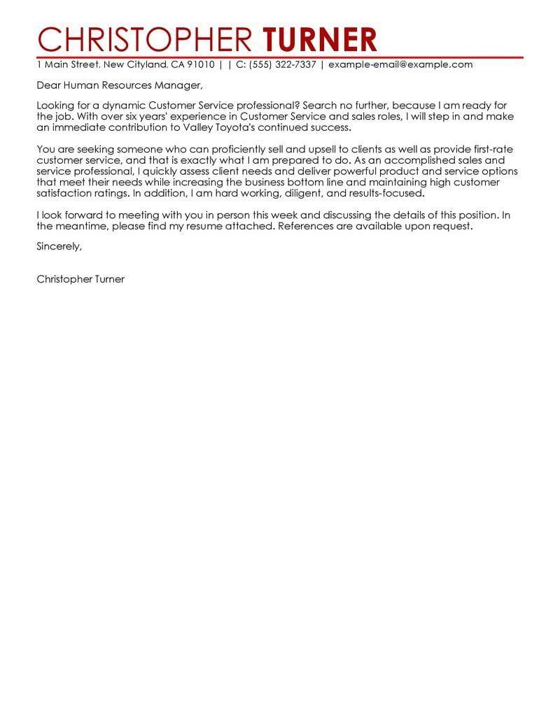 30 customer service cover letter cover letter for