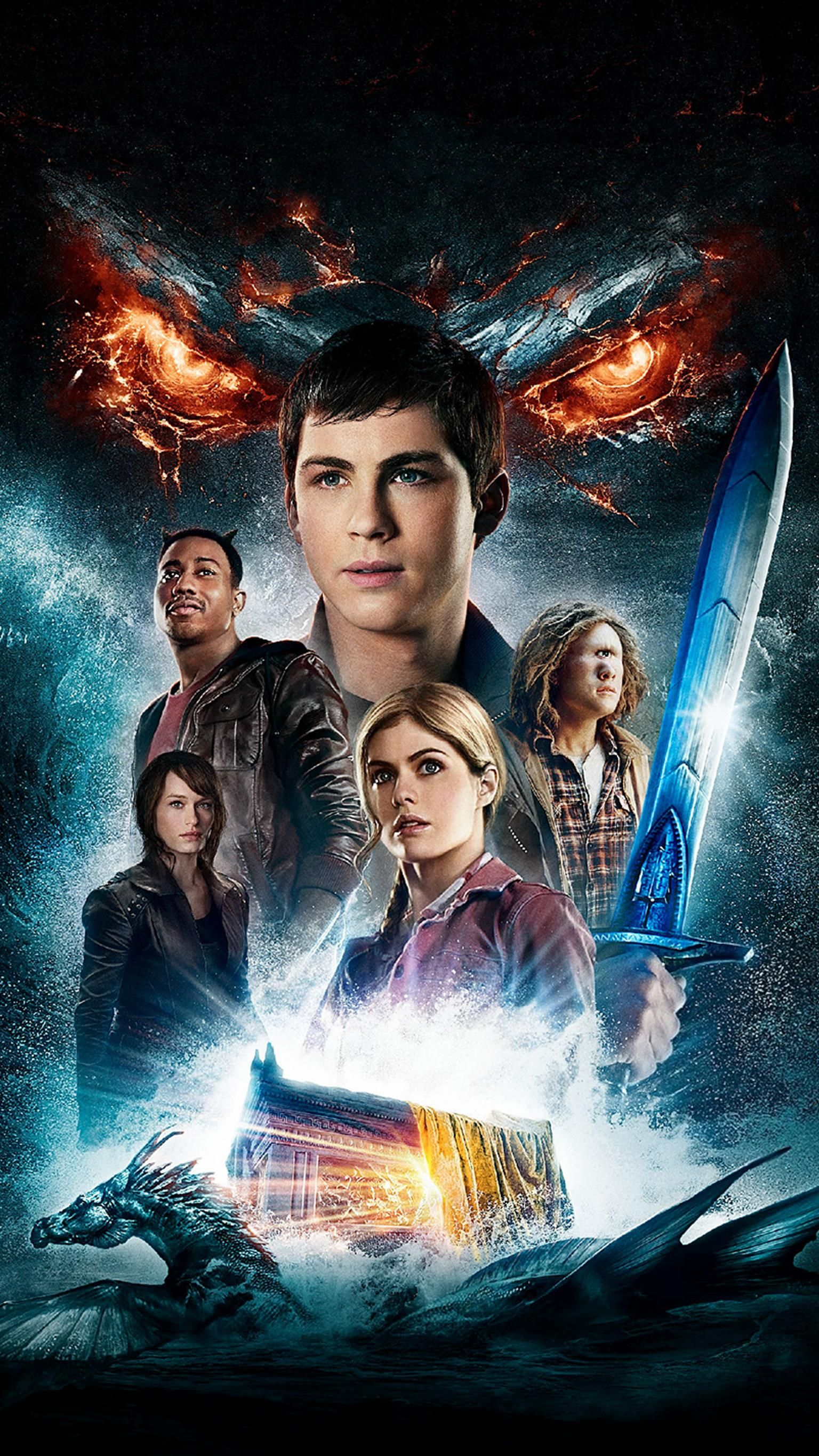 Percy Jackson Sea Of Monsters Phone Wallpaper