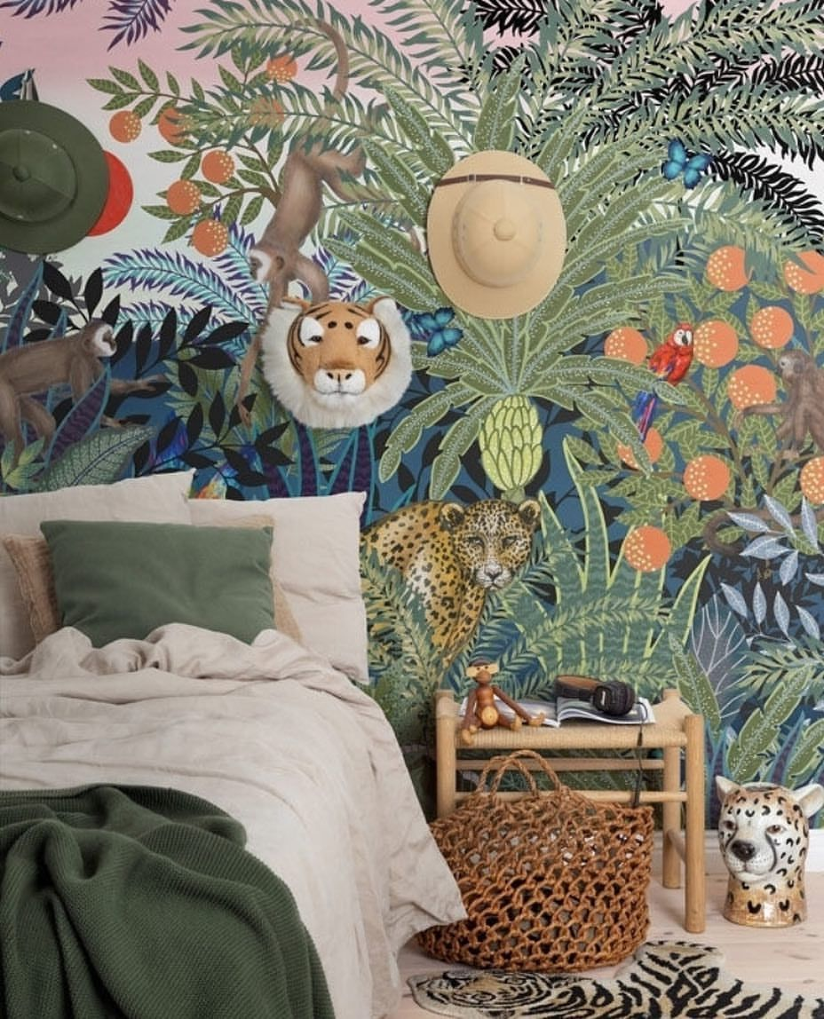 Pin by A Little Lovely Company on Kids wall deco Animal
