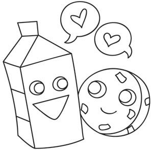 Milk And Cookie Love Embroidery Designs Embroidery Patterns Embroidery