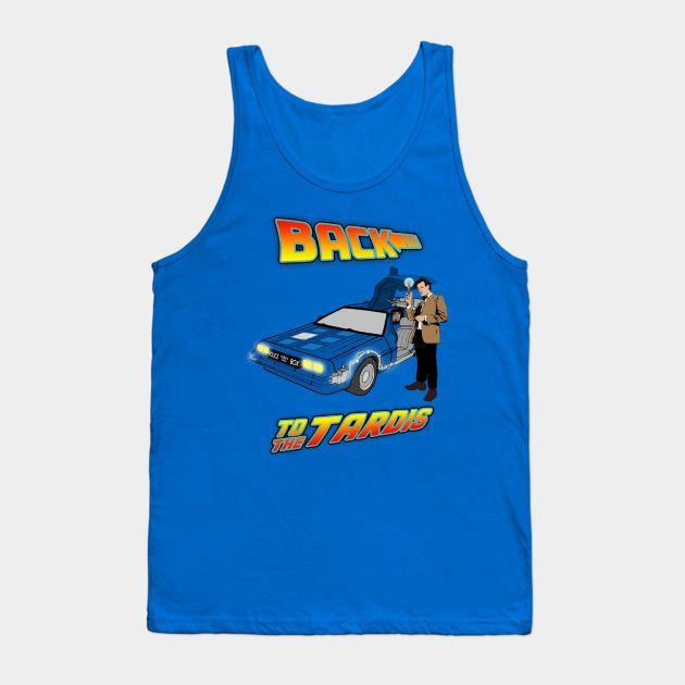 Back To The Tardis - Mens Tank Top