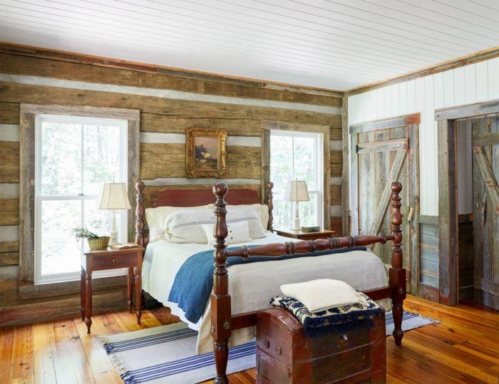 Rustikales schlafzimmer ~ Rustikale stimmung im schlafzimmer schlafzimmer ideen u betten