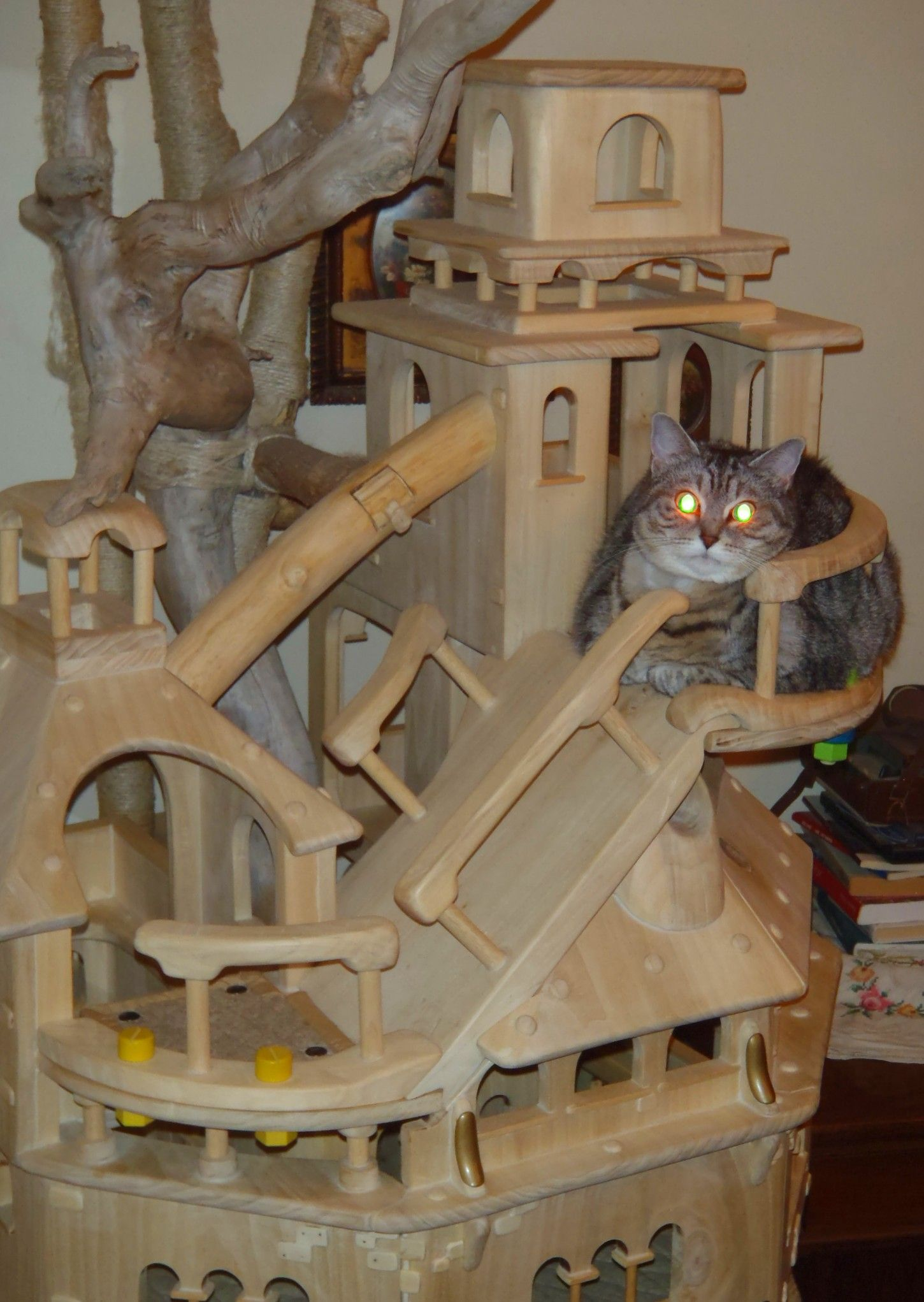 cat castle cat tower playzone for