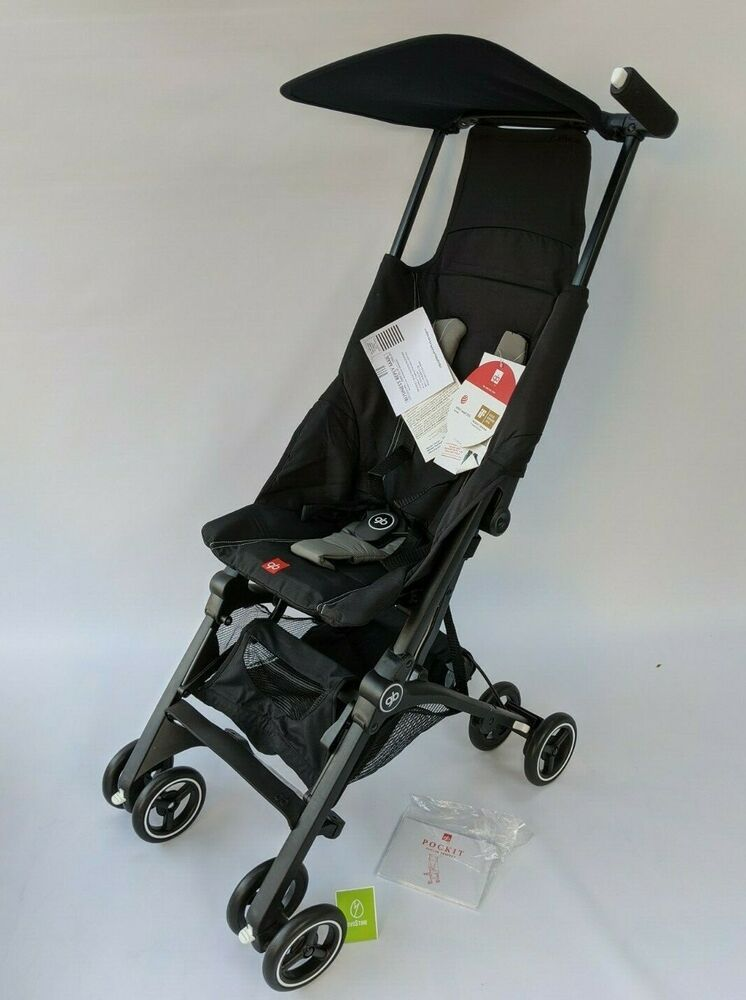 GB Pockit Stroller in Monument Black NEW GB in 2020 (With