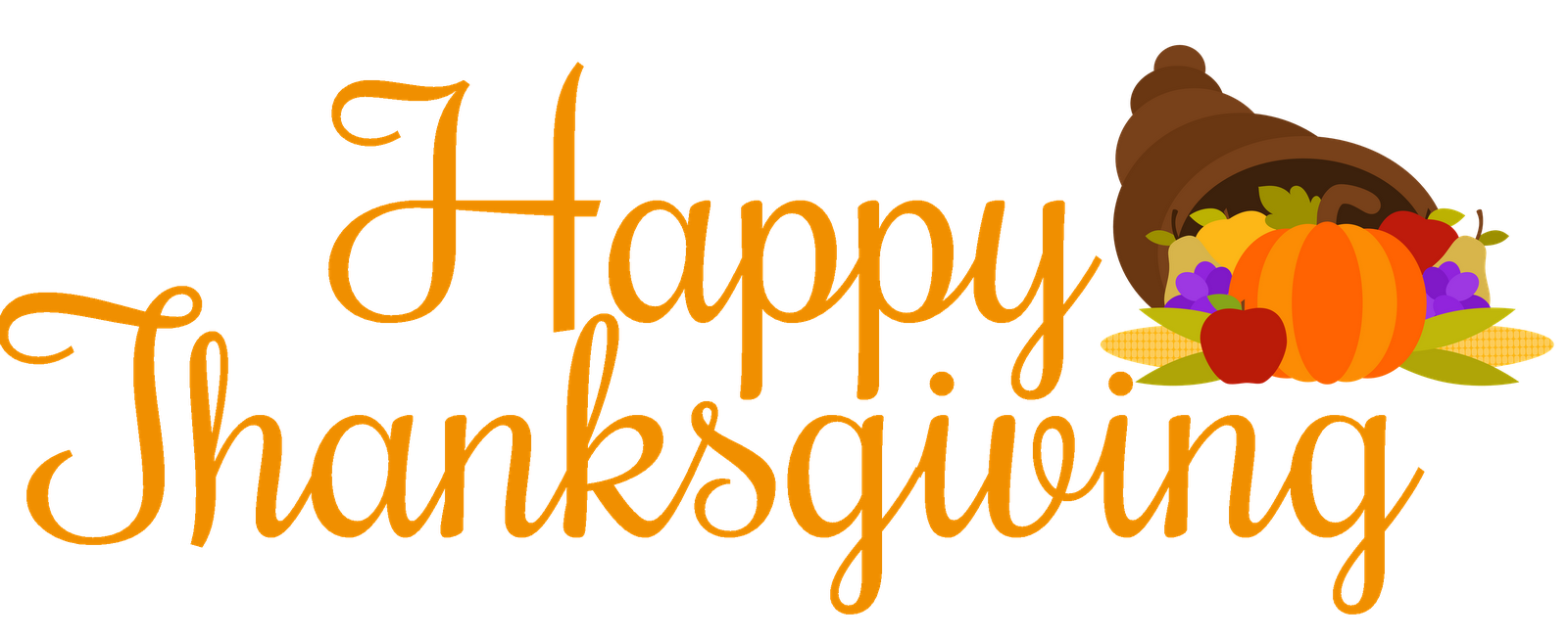 Happy Holidays Clip Art Thanksgiving