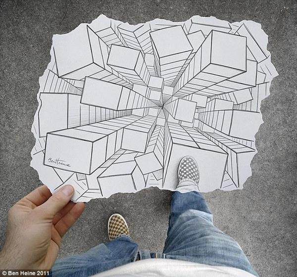 Artist creates optical illusions with pencil drawings outstanding or eh page 5