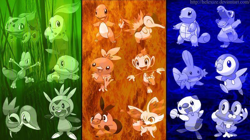 Which Pokemon starter are you? Pokemon coloring, Pokemon