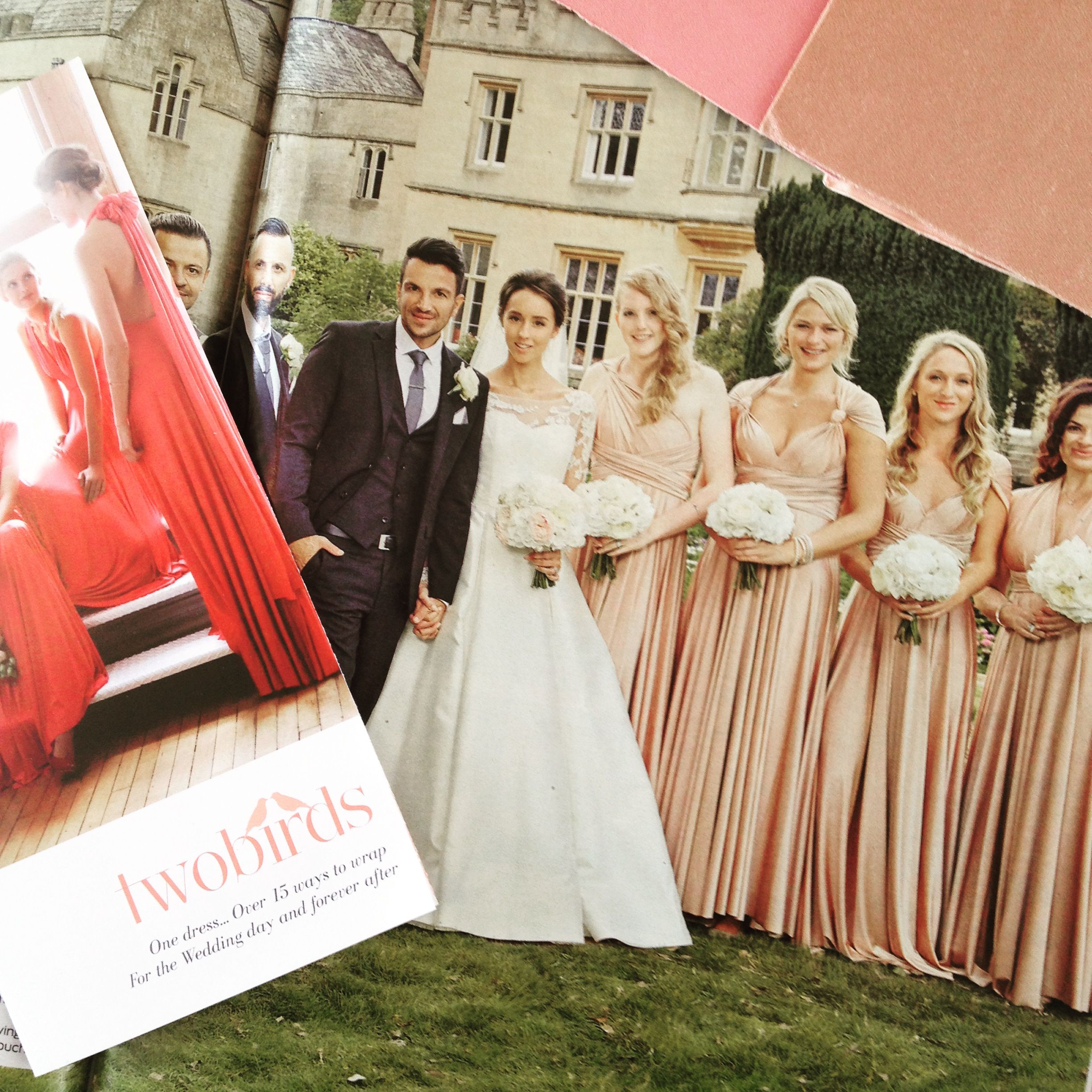 Peter andre emily macdonaghs bridesmaids wore rosewater peter andre emily macdonaghs bridesmaids wore rosewater twobirds ballgowns multiway convertible wrap dresses ombrellifo Image collections