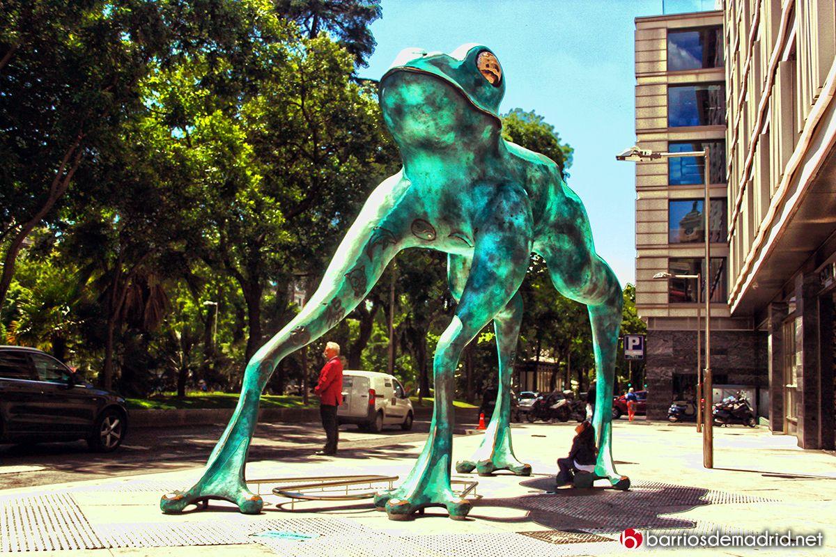 Fotografía De Madrid Barrios De Madrid Barrios De Madrid Madre Arte Estatuas