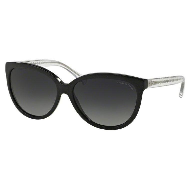 4aeabdde61 Coach HC8153F-5327T3 Cateye Polarized Gradient Sunglasses