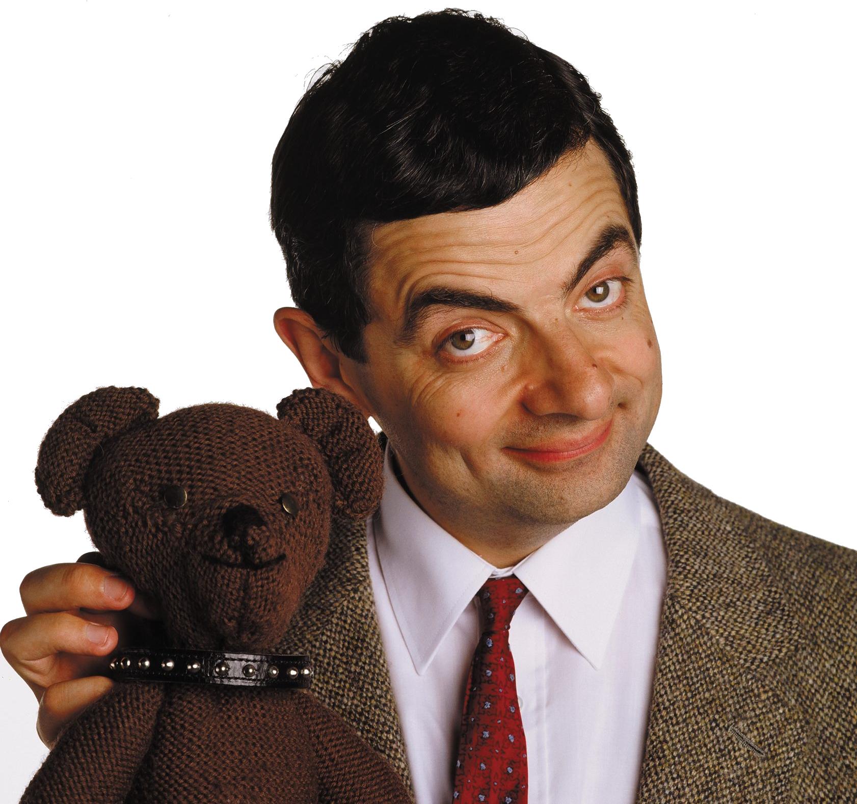 Mr Bean Png Image Mr Bean Mr Bean Funny Teddy Bear Toys