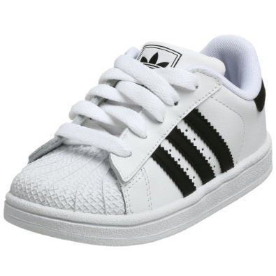 adidas Originals Superstar 2 Sneaker (Infant/Toddler),Run M US Toddler