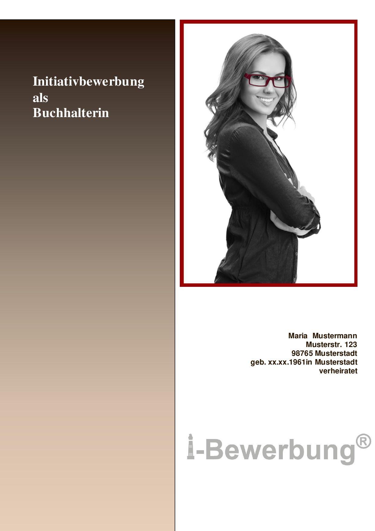 Gestaltung Deckblatt Zur Initiativbewerbung Deckblatt