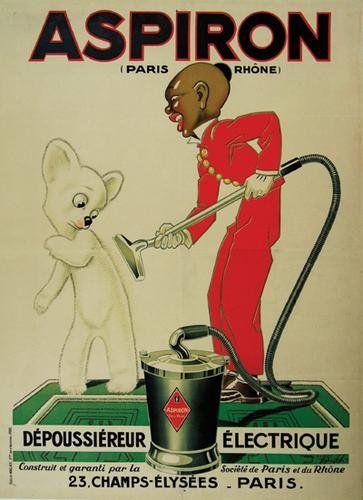 """Aspiron"" vintage French advertising poster art"