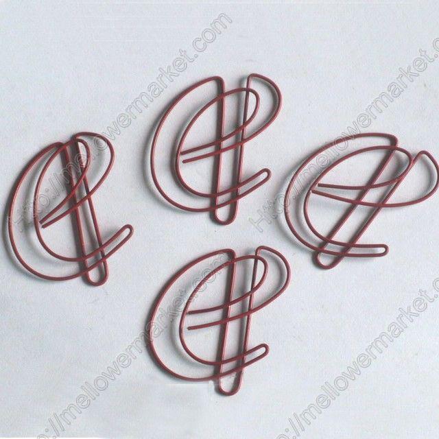 Shaped Paper Clips | Letter e,Alphabet (1 dozen/lot,250 dozen ...