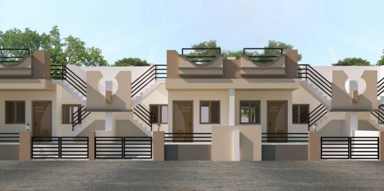 Delightful Front Design Of Row House Part - 4: ICYMI: Row House Front Design