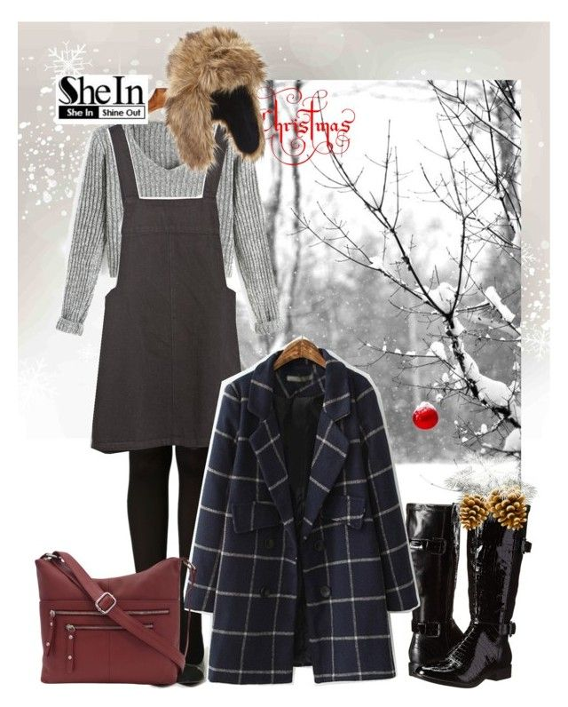 """""""Grey V Neck Long Sleeve Crop Sweater Set"""" by ul-inn ❤ liked on Polyvore featuring LifeStride, Zara and Great American Leatherworks"""